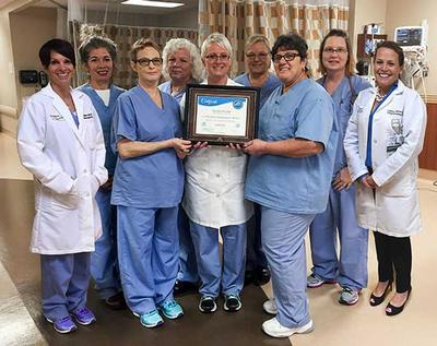 The Post Anesthesia Care Unit Of Oak Hill Hospital Is Recognized By